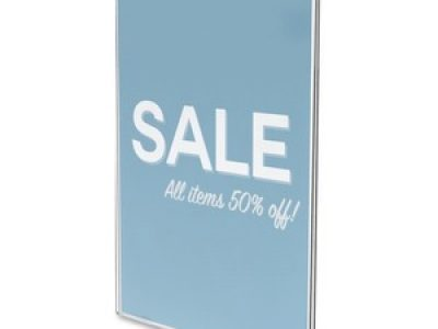 Deflecto Classic Image Wall Mount Sign Holders