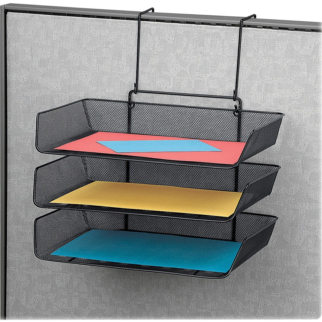 Fellowes Mesh Partition Additions™ Triple Tray