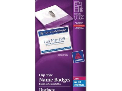 Avery® 74466 Laser/Inkjet Badge Insert