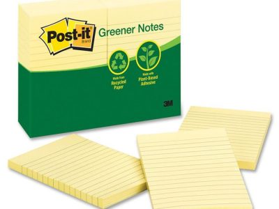 3M Recycled Ruled Notes