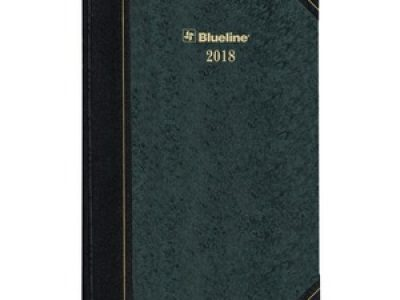 Blueline Hard Cover Daily Appointment Book