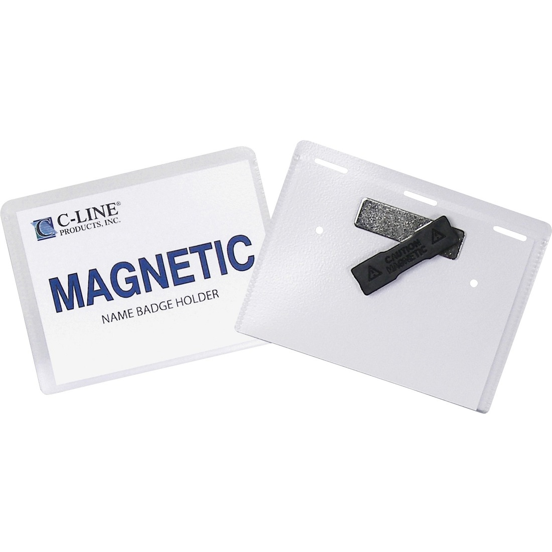 C-Line Laser/Inkjet Magnetic Name Badge Holder Kit