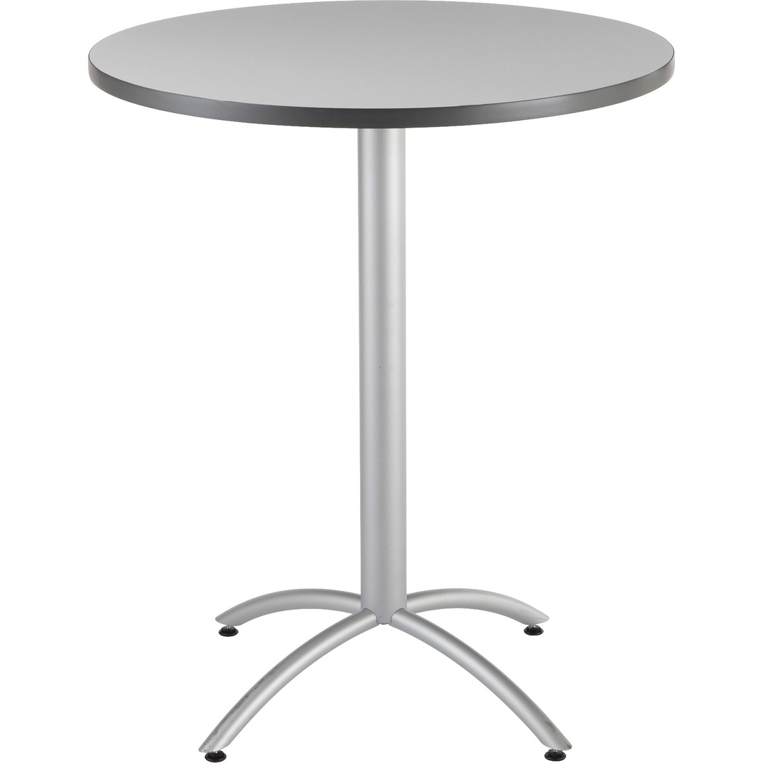 "Iceberg 65667 - CafeWorks Bistro Table, 36"" Round, Gray"