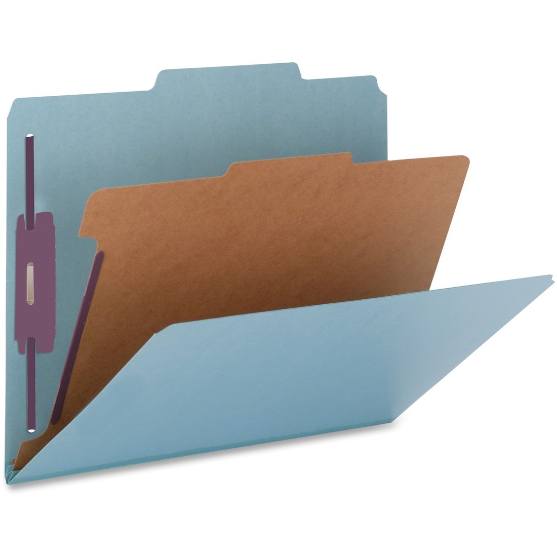Nature Saver 1-Divider Color Classification Folders