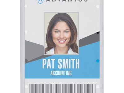Advantus Clear ID Card Holders