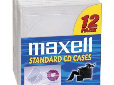 Maxell Compact Disc Replacement Jewel Cases