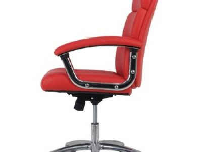 Basyx by HON VL103 High-Back Leather Executive Chair